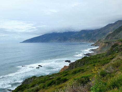 Highway 1 somewhere in Big Sur, California