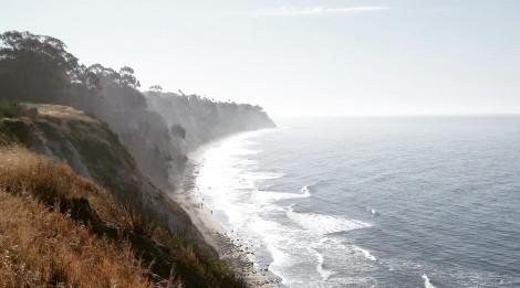 My view running along the Santa Barbara Coast