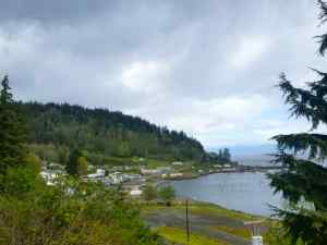Neah Bay on the way to Cape Flattery
