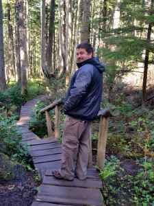 Hiking to Cape Flattery