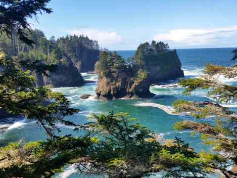 Views of the Pacific Ocean from Cape Flattery
