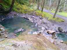 The first of the hot spring pools