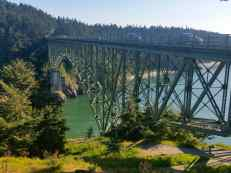 The bridge across deception pass