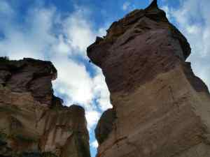 This 400ft Rock Formation is known as the Monkey Face
