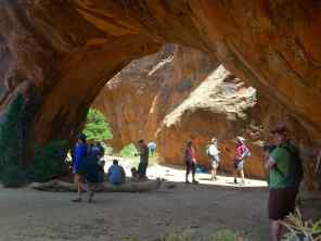 The Navajo Arch at Arches National Park