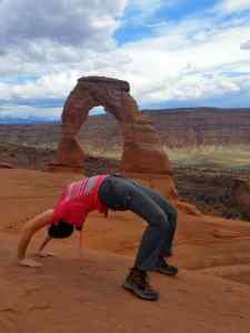 I'm imitating the Delicate Arch