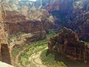 A View of Zion Valley