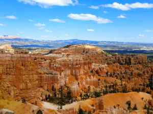 A overview of the Bryce Canyon Amphitheater