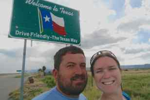 We made it to Texas!