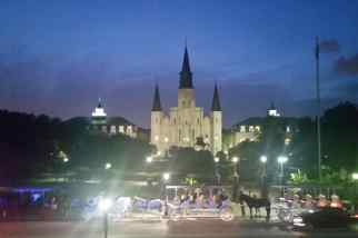 It looks like a castle at Disneyland, but it's somewhere in the French Quarter of New Orleans