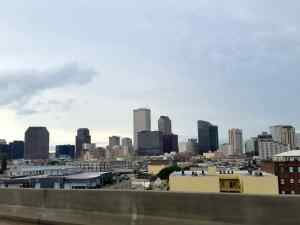Views of downtown New Orleans