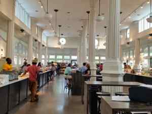 We tried this renovated, new reopened market