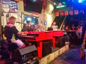 Dueling Pianos on Burbon Street