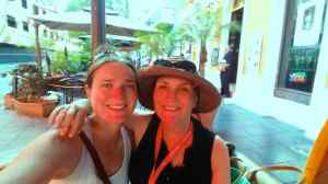Mom and me in Puerto Rico