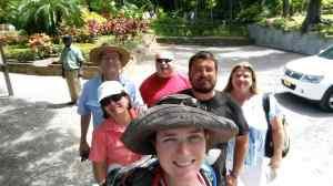 Family tour group