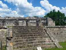 An unknown set of ruins in Chichen Viejo, Chichen Itza