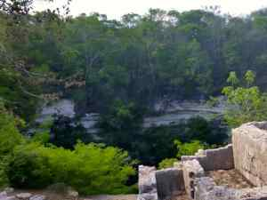 Cenote Sagrado, where the Mayans sacrificed warriors and virgins