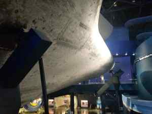 The underside of the Spaceship Atlantis