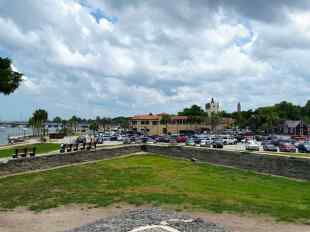 St Augustine from the Fort