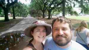 In Forsyth park