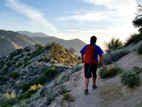 Hiking in southern California