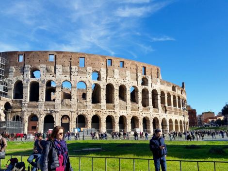 The Colosseum counts as an example of civil engineer... right?