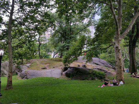 Boulder in Central Park