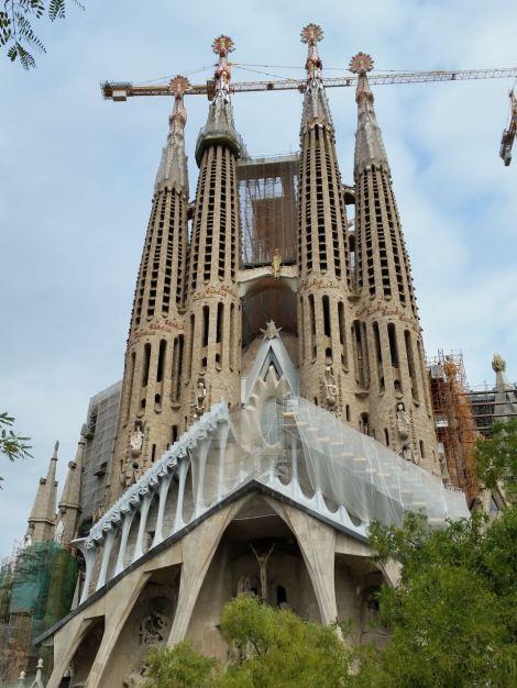 The famous, Sagrada Familia by Guadi