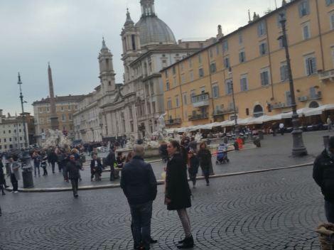 In a Piazza