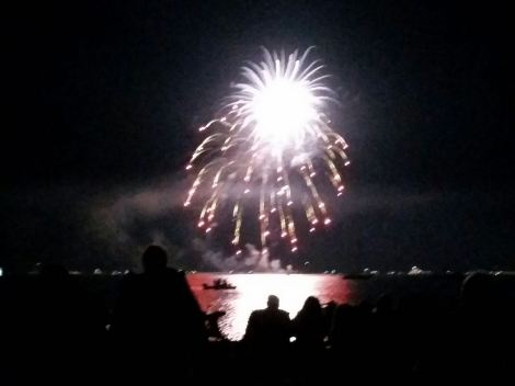 Fourth of July on the beach