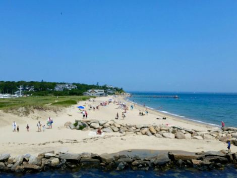 A typical beach on Martha's Vineyard