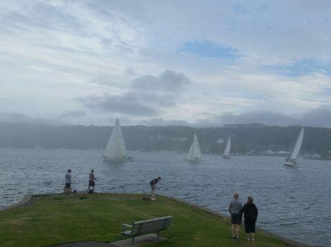 Sail boats at Halifax
