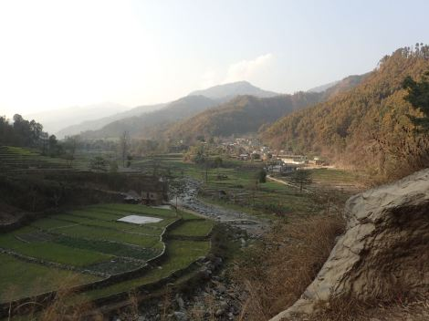 The valley where Bimala and her family live